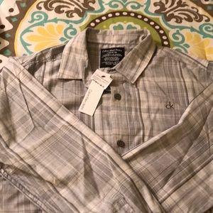 Calvin Klein Shirts & Tops - Boys long sleeve button up